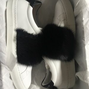 Givenchy Shoes with Fur